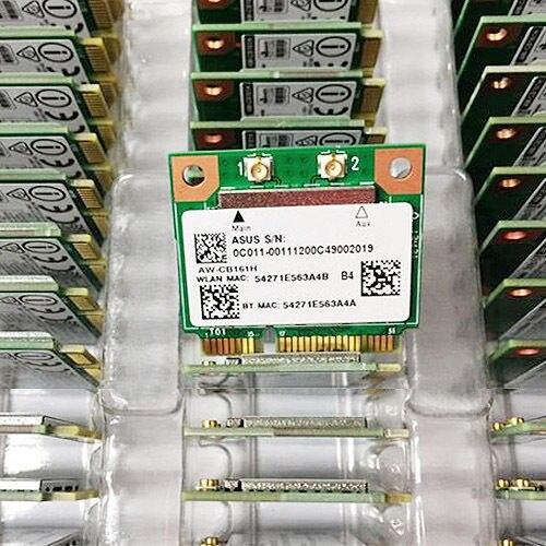 DUAL BAND RTL8821AE Azurewave AW-CB161N Wireless-AC 802.11ac WiFi BT 4.0 Adapter 433M Mini PCie Wlan Card For Windows Linux 7 8