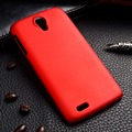 Óleo-revestido telefone covers cases para lenovo s820 4.7 polegadas s 820 casos cobre Utral Luz Plástico Durável Protetora Shell de volta capô