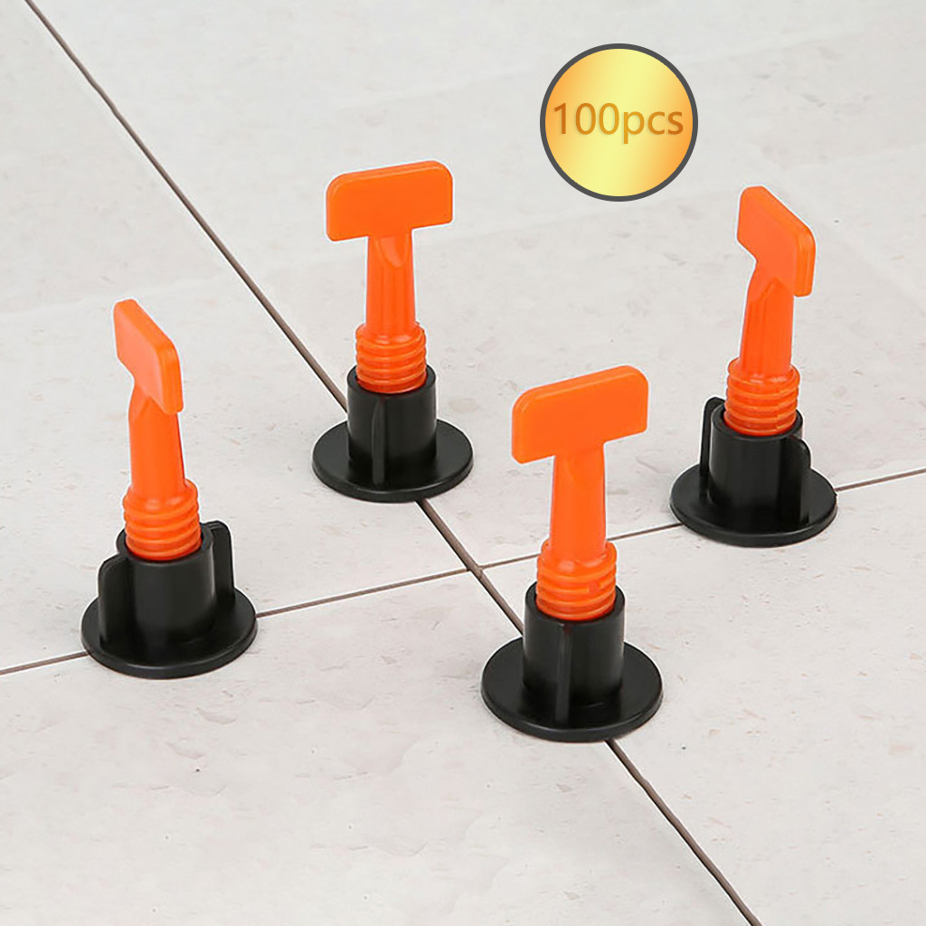 2019 Hot New Products Flat Ceramic Floor Wall Construction Tools Reusable Tile Leveling System Kit Accessories Tool Home