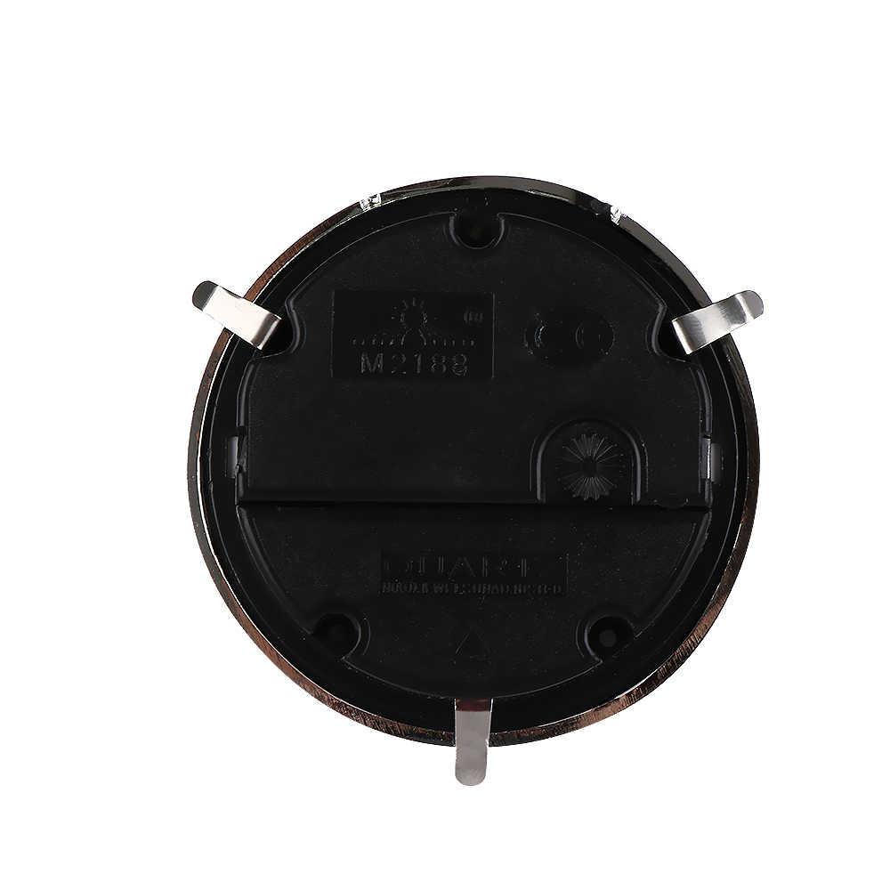 """1 PC 2-1/2 """"(65mm) relógio de Quartzo Movimento de Inserção Guarnição DIY Acessórios Relógio Numeral Romano Rosto Branco de prata"""