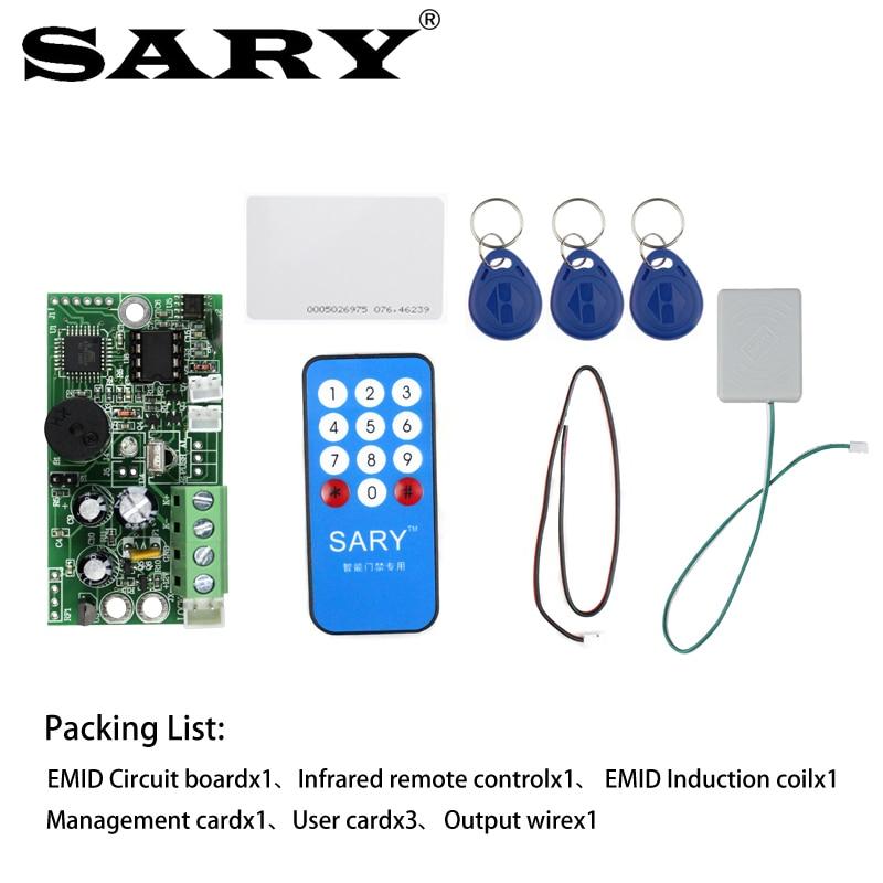 Image 5 - EMID Access Control Board 125KHZ RFID Embedded control board DC12V Normally closed control board-in Access Control Accessories from Security & Protection