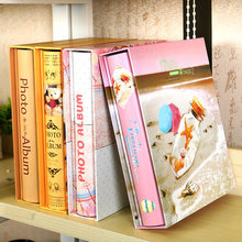 6 inch (4R) a family photo album, boxed couple baby album, children's album, It can hold 200 photos, free shipping
