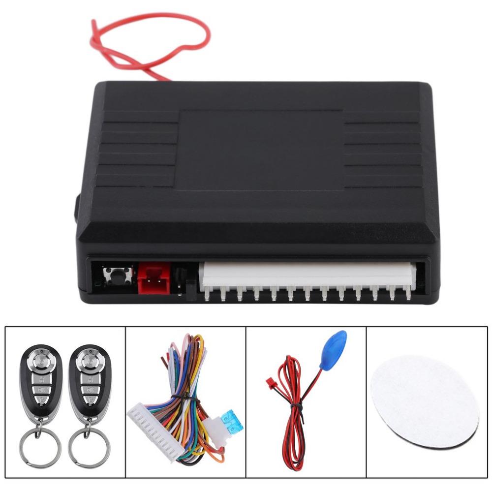 Car Door Lock Keyless Entry System Auto Remote Central Kit Alarm Remot Motor Universal 2v Vehicle Control Box Systems Engine