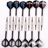 12pcs 4sets Of Soft Tip Darts 18g Nickelplated For Electronic Dartboard With 36 Extra Soft Tips