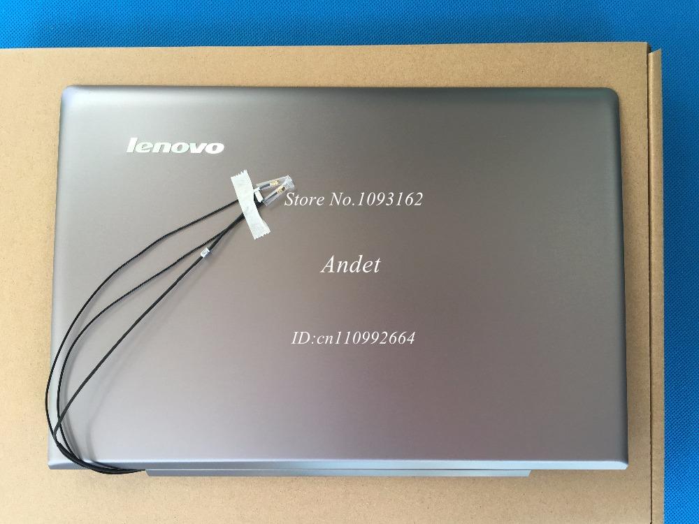Prix pour New Original Pour Lenovo Ideapad U330 Tactile U330T LCD Arrière Retour Haut Couverture Gris LZ5T 60.4Y732.003 3CLZ5LCLV30 90203271