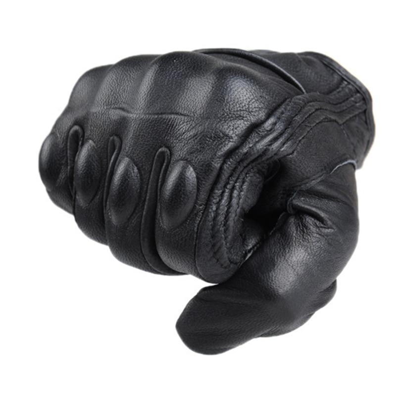 Motorcycle Gloves Leather Full Finger Outdoor Sport Cycling Motocross Gloves Gants Motoqueiro Guantes Motocicleta Luvas de moto