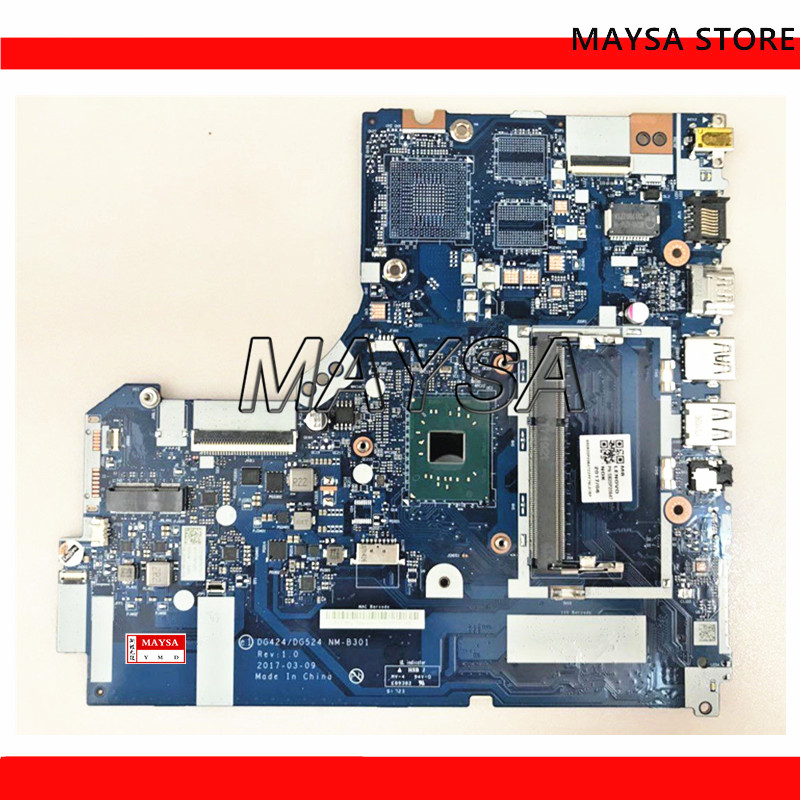 NM-B301 FOR <font><b>Lenovo</b></font> <font><b>IDEAPAD</b></font> <font><b>320</b></font>-15IAP 80XR Laptop <font><b>Motherboard</b></font> 5B20P20644 DDR3L W/ N3350 CPU 100% tested image