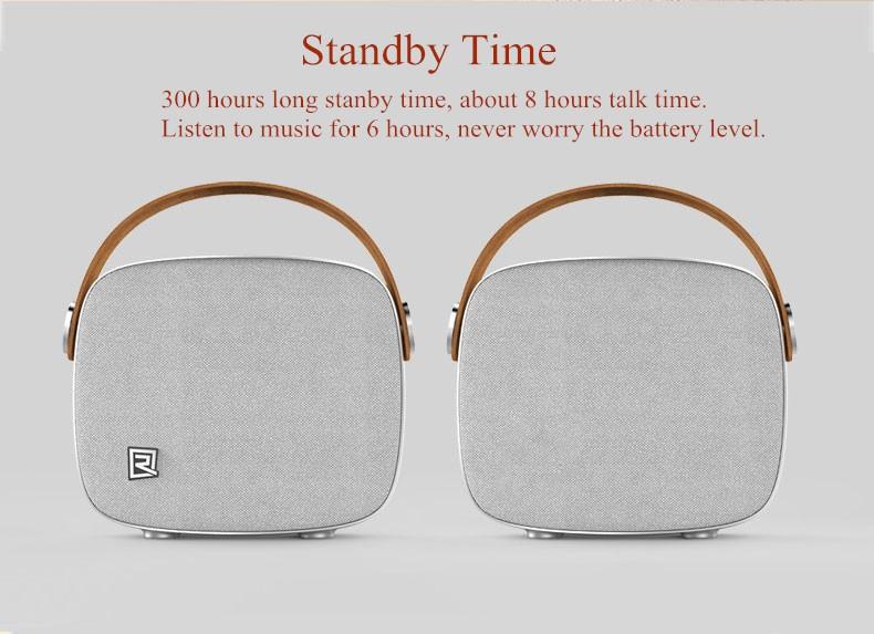 Portable Desktop Speakers Wireless Bluetooth Speaker Remax RB-M6 HIFI Handsfree Design fm radio soundbar for smart phone (10)