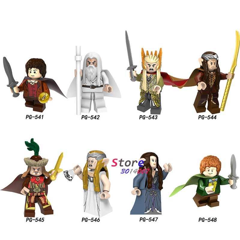 Đĩa Đơn Xây Dựng Mô Hình Khối Chúa Tể Của Những Chiếc Nhẫn Gandalf Thranduil Galadriel Elrond Galadriel Merry Arwen Gạch Đồ Chơi