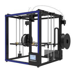 Tronxy Dual extrusora 2 en 1 3D impresora Multi color Cíclope La kits de bricolaje buena actualización para dos colores los gradientes de impresión