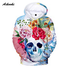 3D Skull Hoodies Men...