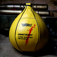 Boxing MMA Speed Ball Muay Thai Fitness Workout Training Punch Speed Bag