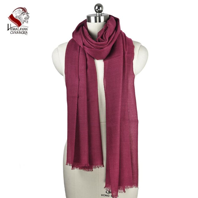 100/% Premium Cachemire Pashmina Foulard châle a volé handmade in Nepal Rouge