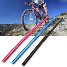 Руль для велосипеда 25,4 мм 60 см, прямой стояк для горного велосипеда, алюминиевый сплав, руль высокого качества