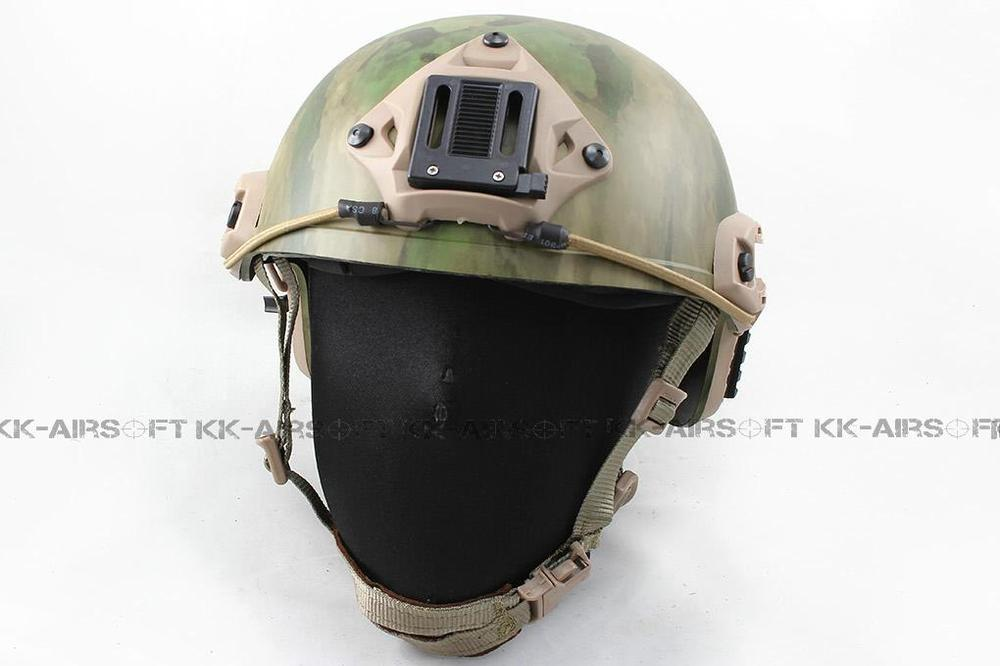 FMA Airsoft FAST helmet style MH Helmet (A-TACS FG) tb464 2017new fma maritime tactical helmet abs de bk fg for airsoft paintball tb815 814 816 cycling helmet safety
