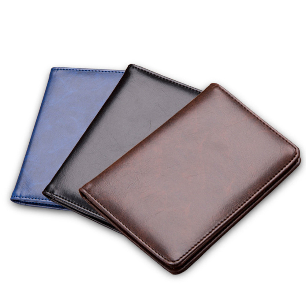 Sleeper #501 2019 NEW Vintage Men Synthetic Leather Card Wallets Pocket Small Credit Card Clutch Bifold Purse Hot Free Shipping