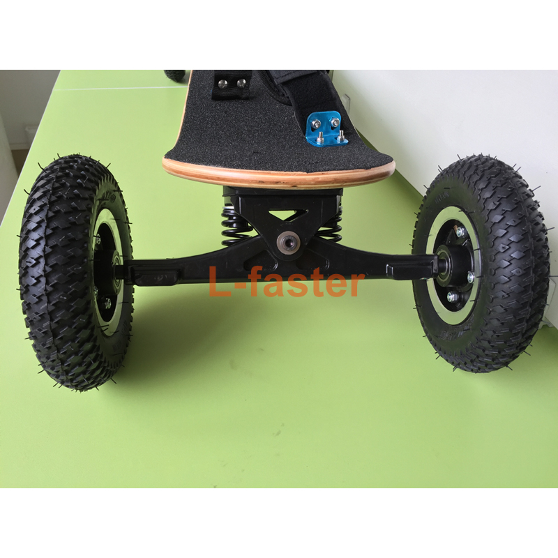 4 wheels off road skateboard 11 inch truck with 8. Black Bedroom Furniture Sets. Home Design Ideas