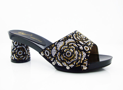 ФОТО black New Arrival African Rhinestones Womens Heels Free Shipping African Pumps Shoes Sexy High Heels Online! size 37-43! HK1-13