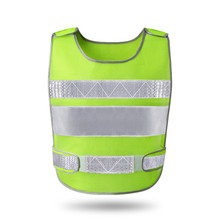 2018 High Reflex waistcoat reflective vest Construction Safety Vest Work Clothes motorcycles retro-reflective waistcoat vests цена