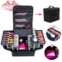 Makeup Organizer Multifunctional Plastic Storage Box For Makeup Storage Boxes Large Cosmetic Desktop Organizer Make Up Travel