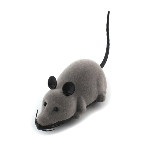 Remote Control Mouse for Cats Scratching Cat Toy Electronic Wireless Rat RC Toy Novelty Products for Cats Pet Toys Random Color