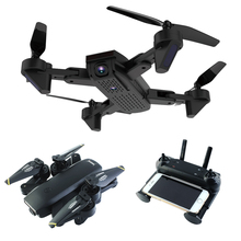 DM107 0.3MP/2MP WiFi Quadcopter Aircraft Black Headless Mode Remote Control Helicopter Mini Drone Drop Ship