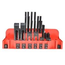 Металл Качество Metex фрезерный станок зажимной комплект M12 58 шт. мельница зажим набор тиски, зажимной инструмент