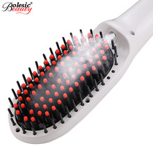 Promo offer Pro LCD Heating Electric Ionic Fast Safe Hair Straightener Anti static Ceramic Straightening straighten hair styles
