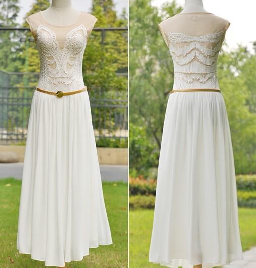 2017 mode elegant slim one-piece dress wanita pakaian set gadis musim - Pakaian Wanita - Foto 1