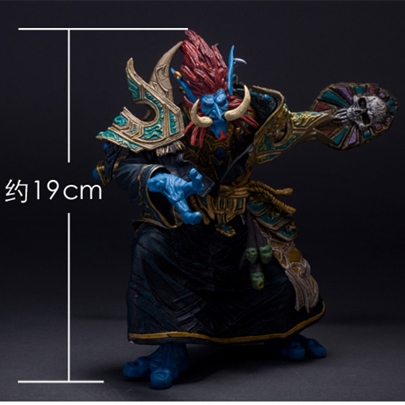 WOW SERIES 2 TROLL PRIEST ACTION FIGURE FIGURINES TOY GIFT Anime Figure Collectible Model Toy