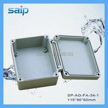 Водонепроницаемый алюминиевый корпус/алюминиевый водонепроницаемый ящик для промышленного применения IP 67 115*90*60 мм(SP-AG-FA-34-1