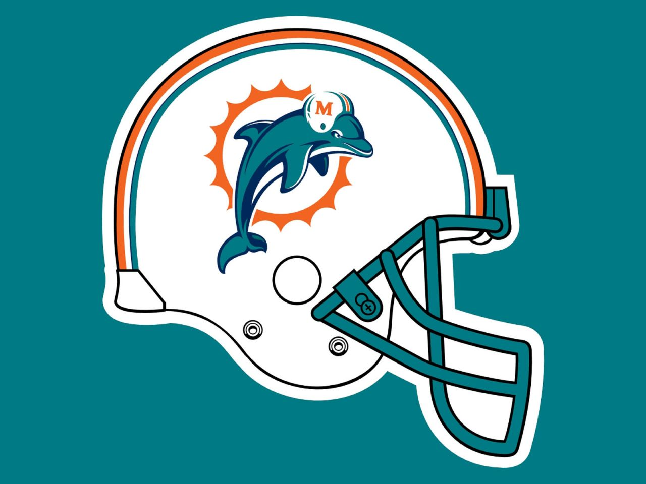 622f30e0c Diamond Painting Full Square Round Miami Dolphins Football Logo Daimond  Painting Mosaic Embroidery Home Decor Gift
