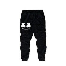 DLF 2-12 New Spring Autumn 2019 Marshmello Pants Kids Boys Raper Trousers Joggin