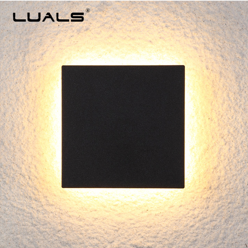 Simple Modern Deco Wall Lamp Outdoor Wall Light Garden Waterproof LED Wall Lamps Creativity Porch Lights Luxury Home Lighting modern simple creativeoutdoor led wall lamp waterproof aluminum porch lights for garden corridor decorative wall lights