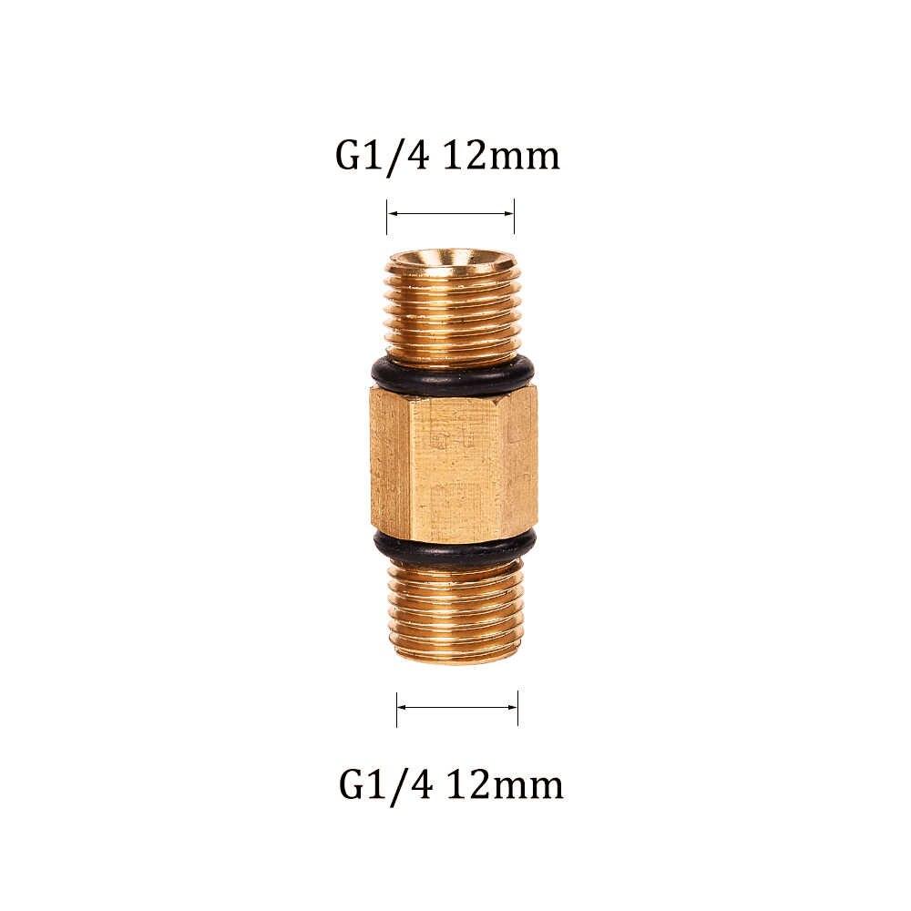 "G 1/4"" High Pressure Washer Connector for Snow Foam Lance/Foam Generator/Foam Nozzle/Foam Gun Car Washer 12mm"