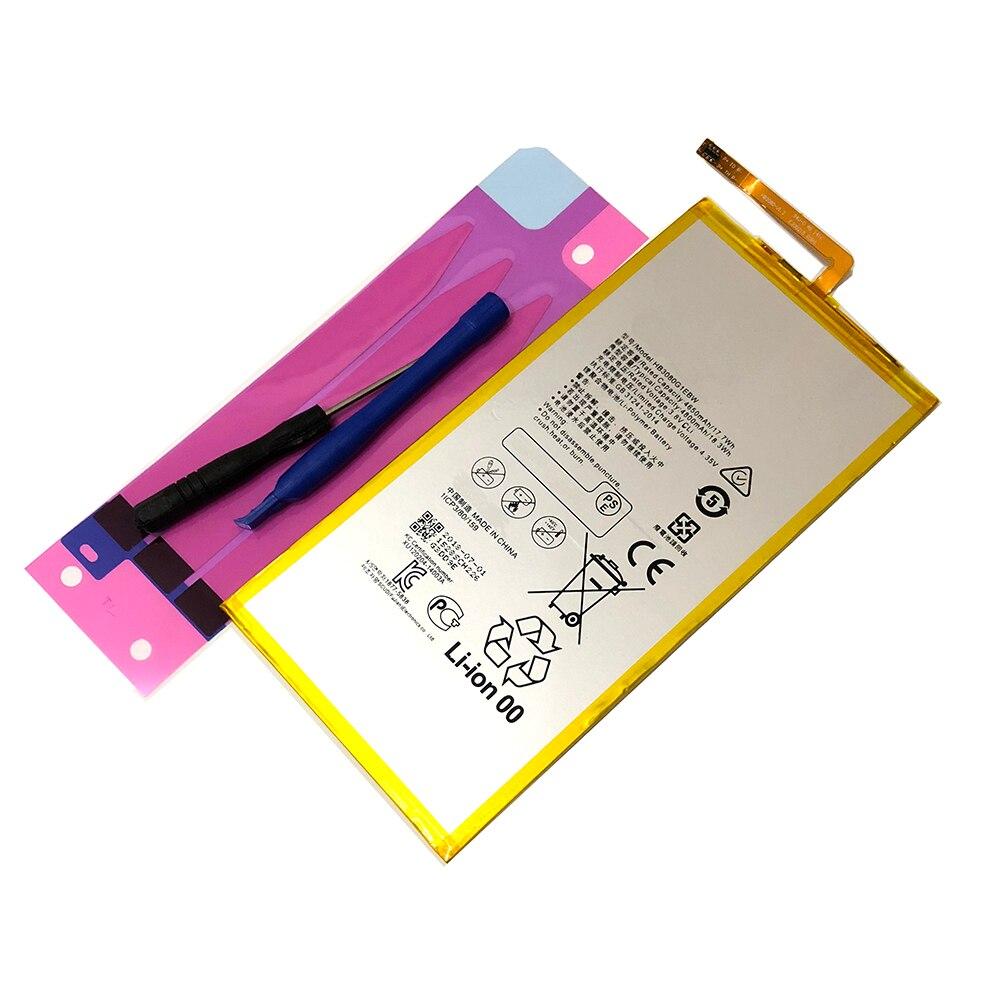 Bonne qualité HB3080G1EBW S8 batterie Rechargeable Li-ion tablette pour Huawei Honor S8-701u S8-701W d'honneur Mediapad M1 8.0