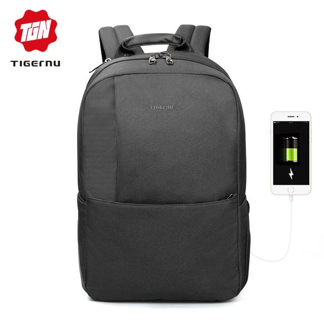 Tigernu Brand Men Anti theft  15.6″ USB Laptop Backpack Women School Backpacks Mochila Business School bag for teens