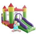Надувной замок Надувной Наличие слайд-уголок играть и Надувной бассейн батут для детей Дом прыжока батут для детей домашний
