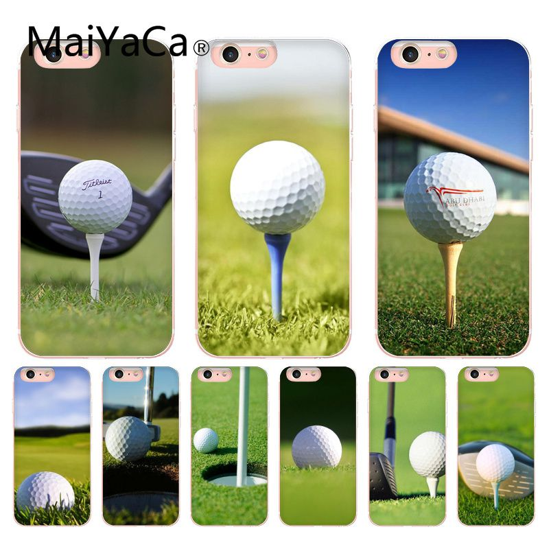 MaiYaCa Golf Sports Coque Shell Phone Case For iphone 7 7plus X 8 8plus And 5 5s 6s 6s Plus Mobile phone cover