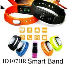 ID107 Smart Uhr Passometer ID 107 Smart Band Armband Bluetooth Pulsmesser Aktive Tracker Sport Armband Smartwatch