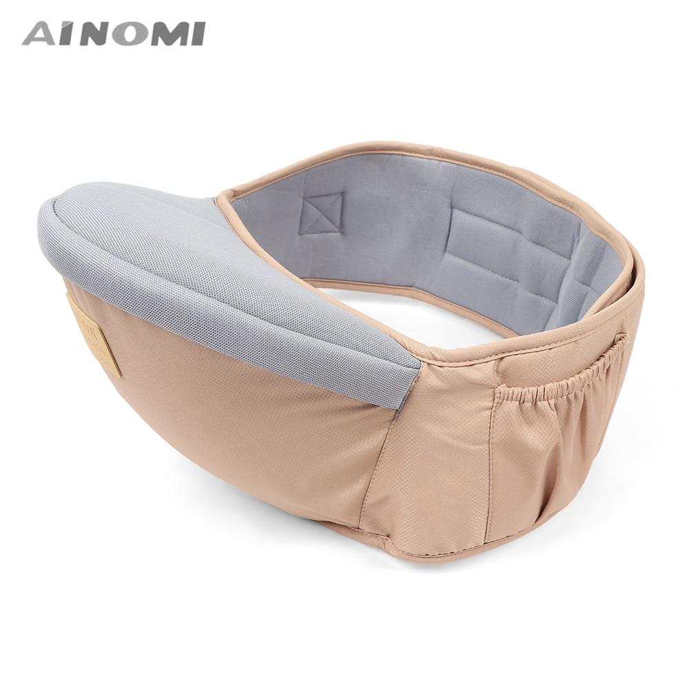 Dropshipping Ainomi New Design Waist Stool Walkers Baby Sling Hold Waist Belt Backpack Hipseat Belt Kids Infant Hip Seat