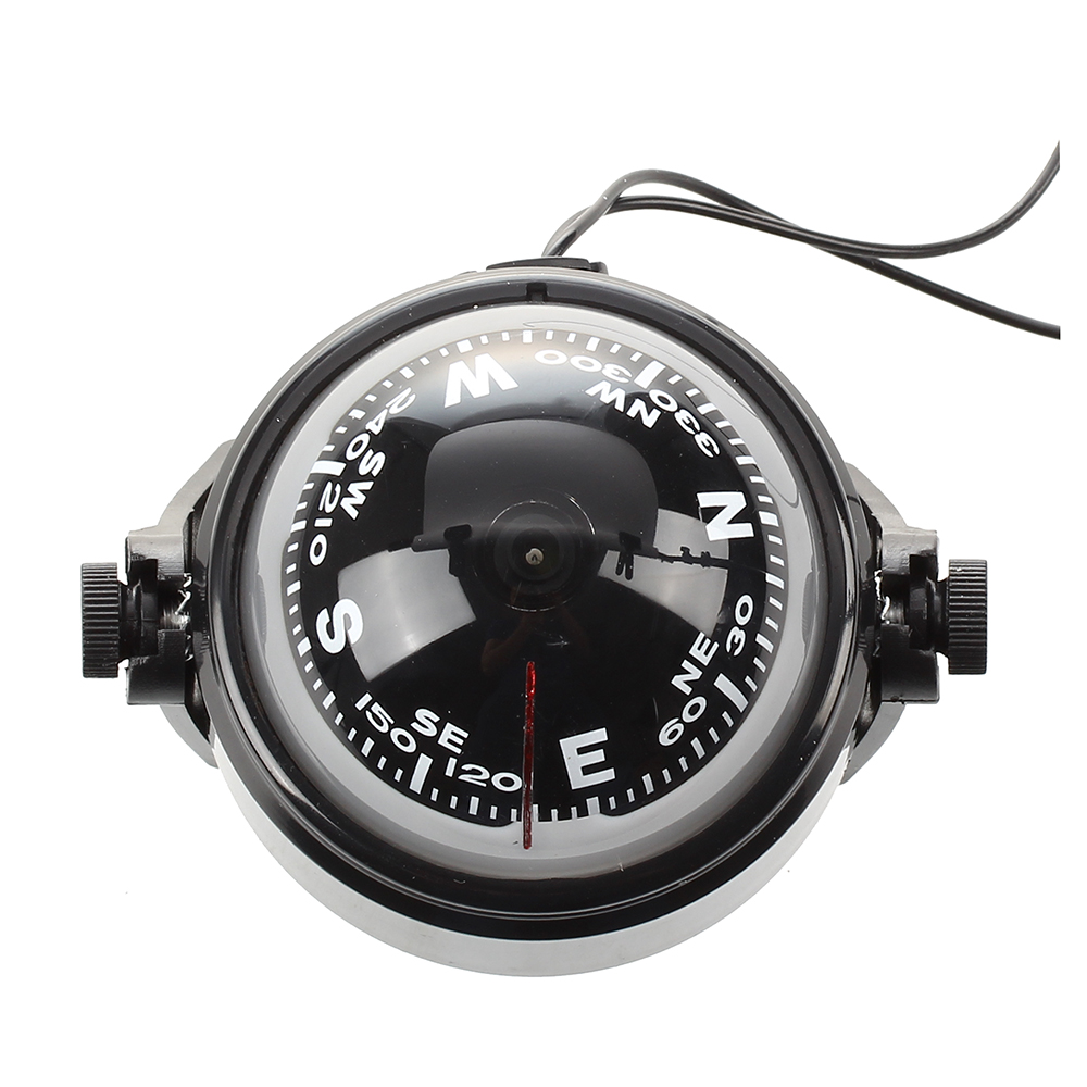 Wholesale! LED Floating Magnetic Compass Compass Navigation Car Auto Marine ...