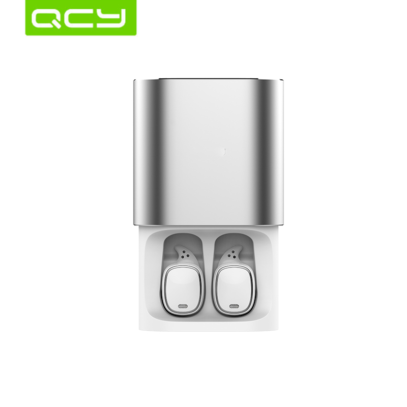 QCY T1pro TWS 2019 version of Bluetooth 5.0 earphones wireless 3D headphones with microphone handsfree calls noise cancelling батарейки заряжаемые от usb