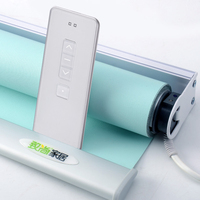 Plug-in System Auto Motorized Electric Roller Blinds For Office Home Smart Alexa Google Home Compatible via Broadlink