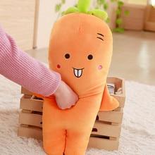 1PC 60CM Creative Vegetables Carrot Plush Toys  Simulation Plant Pillow Stuffed Soft Plush Cushion Valentine Gifts