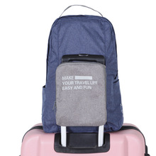 Travel Clothes Luggage Organise Waterproof Backpack Hologram Women's Backpack Style Fashion Women Bag Men's Folding Backpack Bag