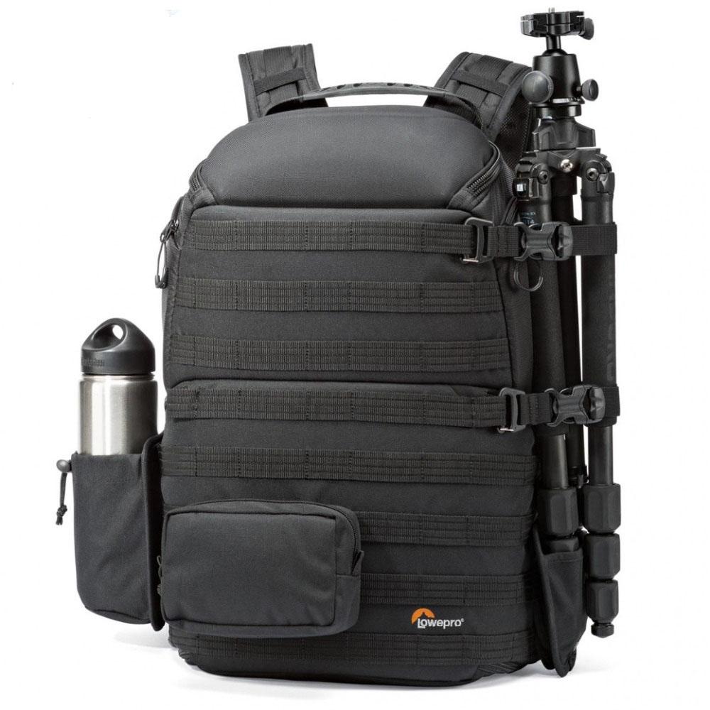 Genuino Lowepro ProTactic 450 aw hombro Cámara bolsa SLR Cámara bolso portátil mochila con todo el tiempo cubierta de 15,6 pulgadas Lapto