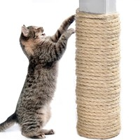10M Multifunctional Sisal Rope DIY Cats Toy Cat Climbing Frame Scratch Board Cat Tree Ropes Pet