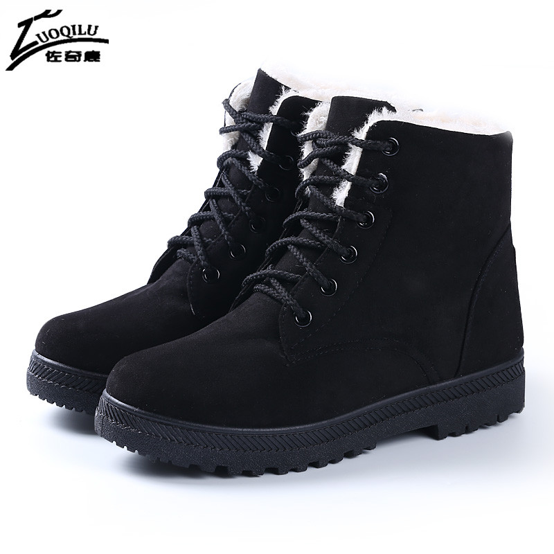 Hot Fashion Women Boots Botas Mujer Shoes Women Winter Boots 2016 Warm Fur Ankle Boots Winter