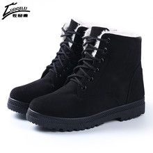 Women Boots 2017 Winter Boots Women Warm Fur Ankle Boots For Women Warm Winter Shoes Botas Mujer bota feminina 2017